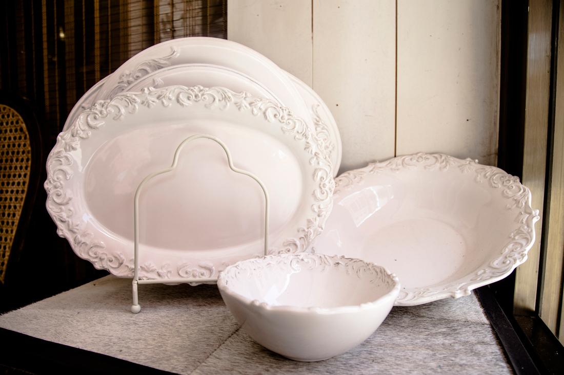 Vajillas elegantes servicio completo de vajilla platos for Vajillas porcelana clasicas