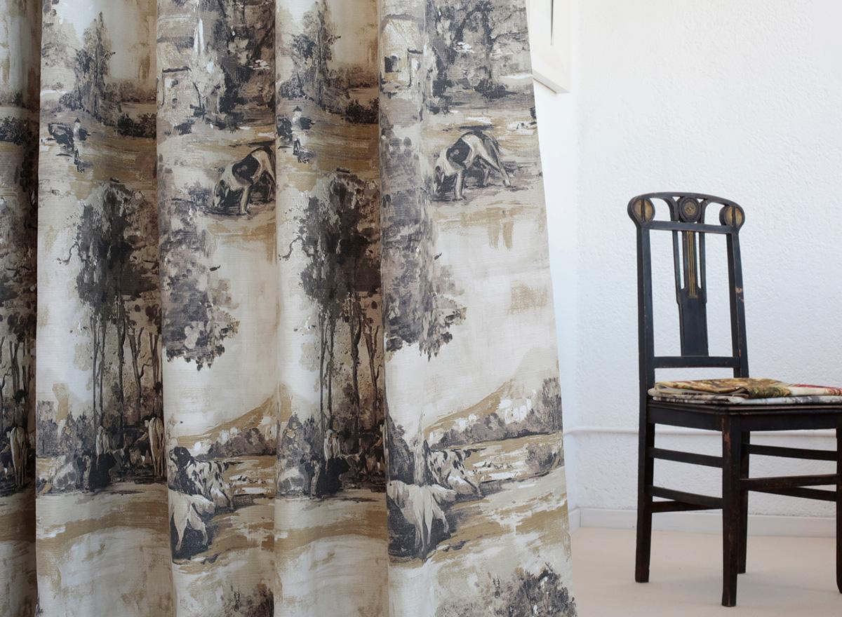 Las cortinas en decoración