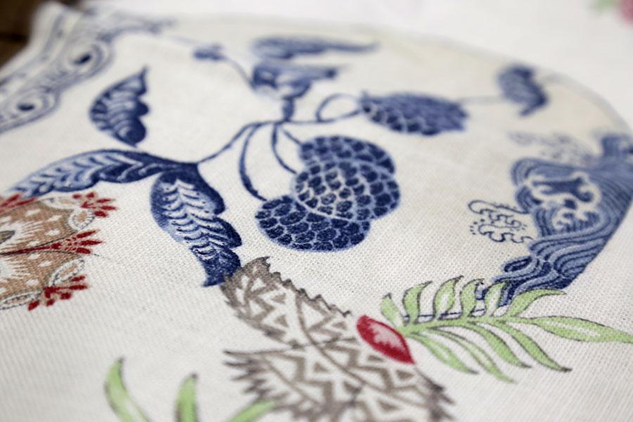 Últimas colecciones de tejidos Güell-Lamadrid con Chinoiserie